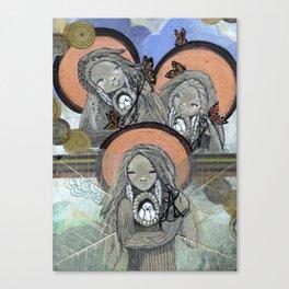 Return of the Medicine Women Canvas Print