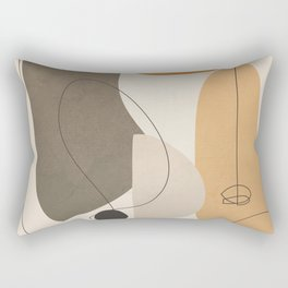 Abstract Minimal Shapes 26 Rectangular Pillow