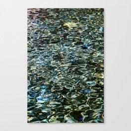 Mercurial Prismatic Waves Canvas Print
