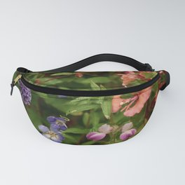 Wildflower Garden In The Morning Fanny Pack