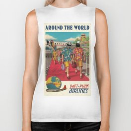 AROUND THE WORLD Biker Tank