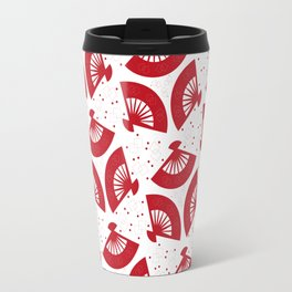 Red Folding Travel Mug
