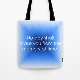 Memory of Time Tote Bag
