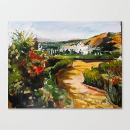 Gardens of La Alhambra Canvas Print