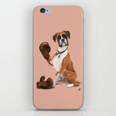 The Boxer (colour) iPhone & iPod Skin