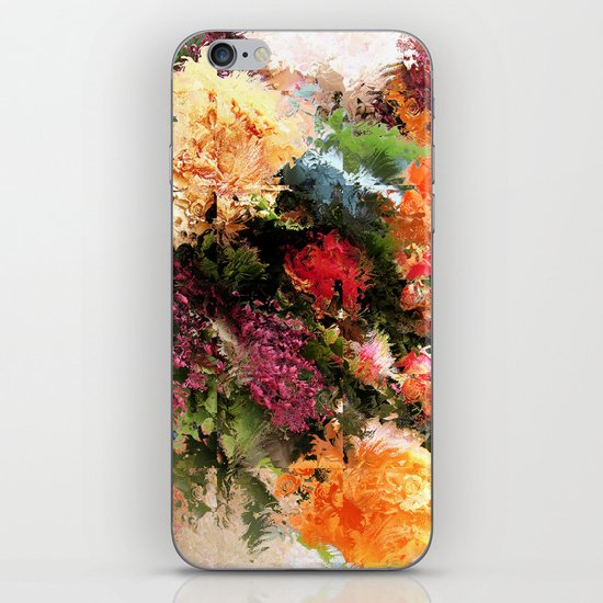 Four Seasons in One Day iPhone & iPod Skin