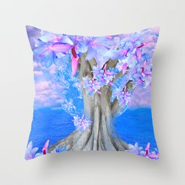 TREE OF HOPE Throw Pillow