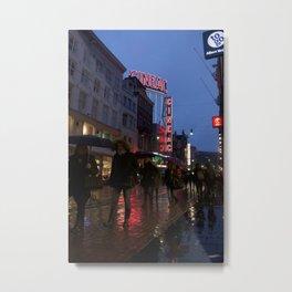 Cineac Amsterdam Metal Print