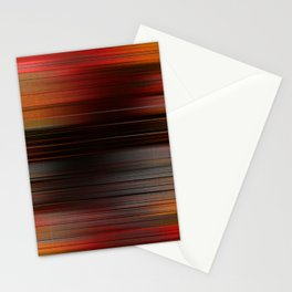"""Abstract Autumn Porstroke (Pattern)"" Stationery Cards"