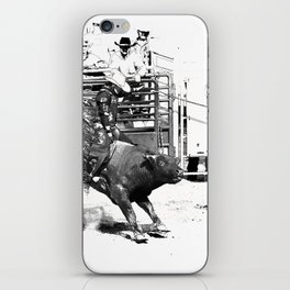 Rodeo Bull Riding Champ iPhone Skin