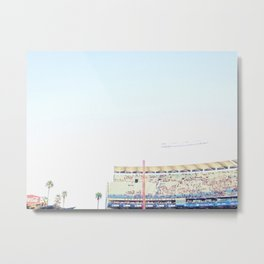 Dodger Stadium Magic Hour Metal Print