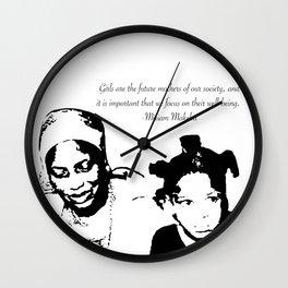 Miriam Makeba Wall Clock