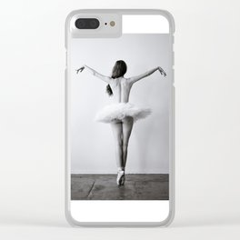 The Dying Swan Clear iPhone Case