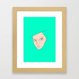 The Chick Stare Framed Art Print