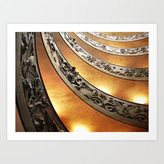 Vatican Museums Art Print