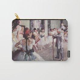 The Ballet Class- Edgar Degas Carry-All Pouch