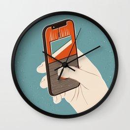 Cutting Wall Clock