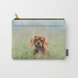 Cute puppy poster Carry-All Pouch