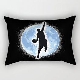 Shoot for the moon! Rectangular Pillow