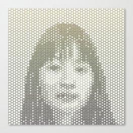Tessellated Portraits - J.T. Canvas Print