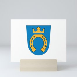 Flag of Espoo Mini Art Print