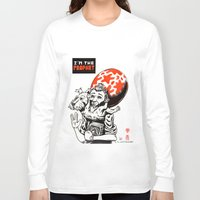 tintin Long Sleeve T-shirts featuring I'm the prophet / Tintin and Snowy by remedact