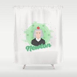 Smart Scientists - Newton Shower Curtain