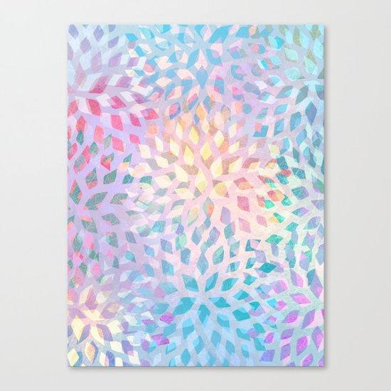 Summer Pattern #2 - color variation Canvas Print