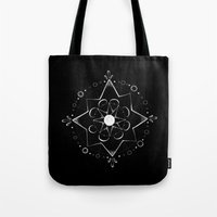 celestial Tote Bags featuring Celestial by Jess Duffy