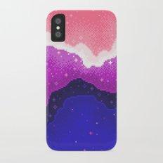 Genderfluid Pride Galaxy iPhone X Slim Case
