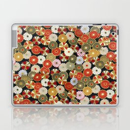 Golden Chrysanthemums Laptop & iPad Skin