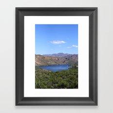 Canyon Lake Framed Art Print