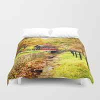 whisky Duvet Covers featuring Whisky Creek by ThePhotoGuyDarren