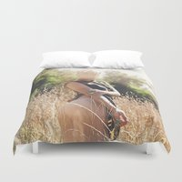 rebel Duvet Covers featuring Rebel by Josefina