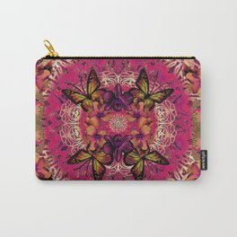 Victoria Mandala Collage Carry-All Pouch