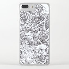 Tyler Joseph and Blurryface. TOP Clear iPhone Case