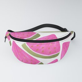 Watermelons Pink Fanny Pack