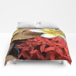 Frangipani & Ixora Comforters