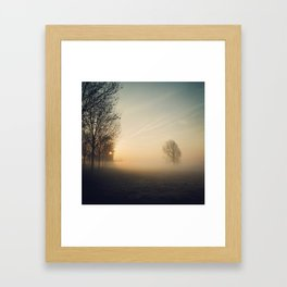 Rejected tree Framed Art Print