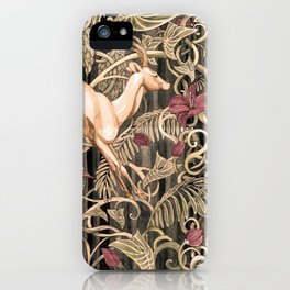 Wild life pattern iPhone Case