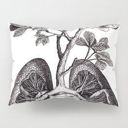 Flourishing Lungs Pillow Sham