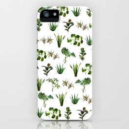house plant medley iPhone Case