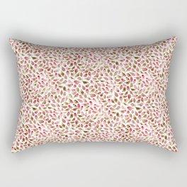 House Finch Pattern Rectangular Pillow