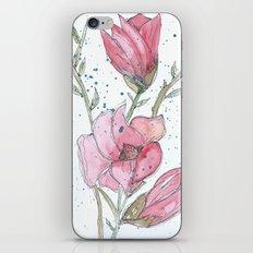 Magnolia #3 iPhone & iPod Skin
