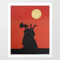 Nubian Queen 1 Art Print