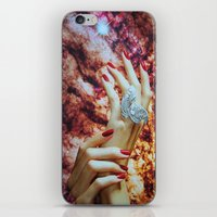 hands iPhone & iPod Skins featuring Hands by John Turck
