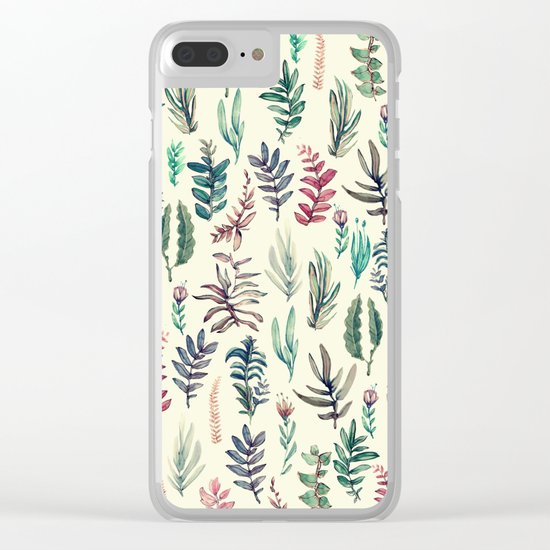 suave garden Clear iPhone Case