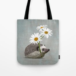 Hedgehog in love Tote Bag