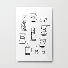 Brew Time. Metal Print