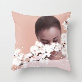 Poussey Washington Throw Pillow